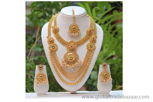 Fancy Kundan Bridal Jewellery