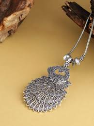 Fancy Ethnic Silver Jewellery