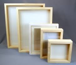Wooden Box and Frames