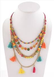 Multicolor Handcrafted Jewellery